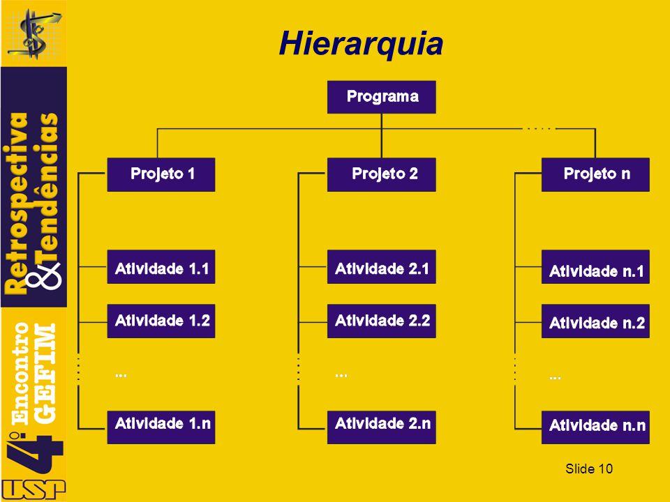 Slide 10 Hierarquia