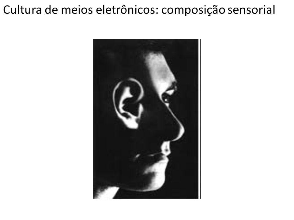 Cultura de meios eletrônicos: composição sensorial