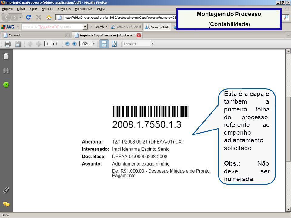 57 N.E.Após a impressão da capa do processo, imprimir a nota de empenho através da opção N.E.