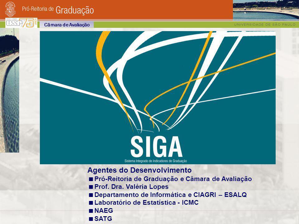 Agentes do Desenvolvimento Pró-Reitoria de Graduação e Câmara de Avaliação Prof. Dra. Valéria Lopes Departamento de Informática e CIAGRI – ESALQ Labor