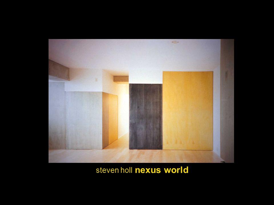 steven holl nexus world