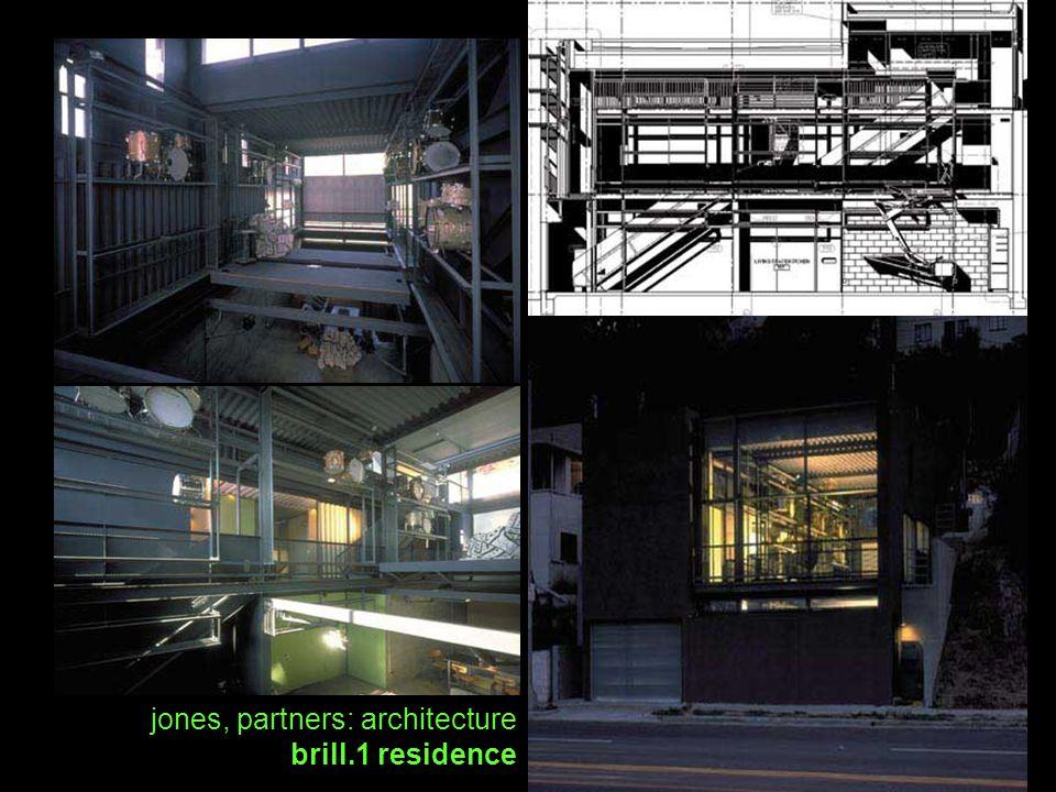 jones, partners: architecture brill.1 residence
