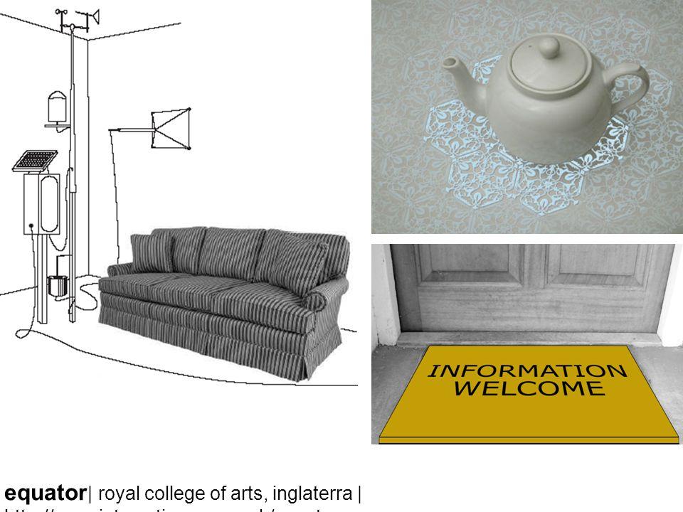 equator | royal college of arts, inglaterra | http://www.interaction.rca.ac.uk/equator