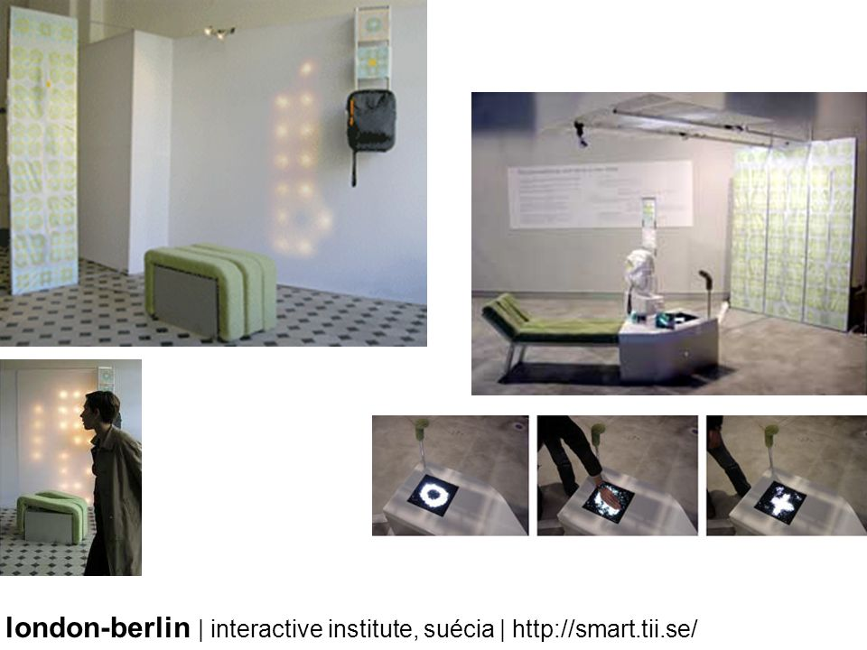 london-berlin | interactive institute, suécia | http://smart.tii.se/