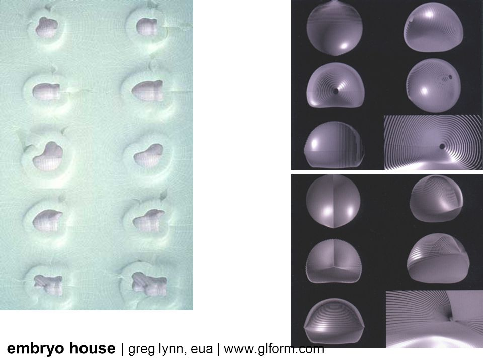 embryo house | greg lynn, eua | www.glform.com