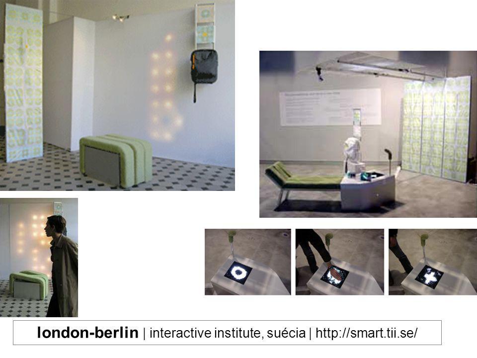 london-berlin | interactive institute, suécia | http://smart.tii.se/