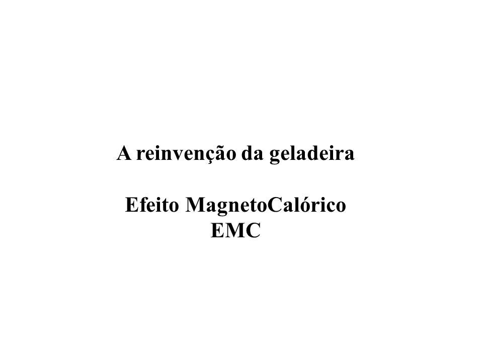 A reinvenção da geladeira Efeito MagnetoCalórico EMC