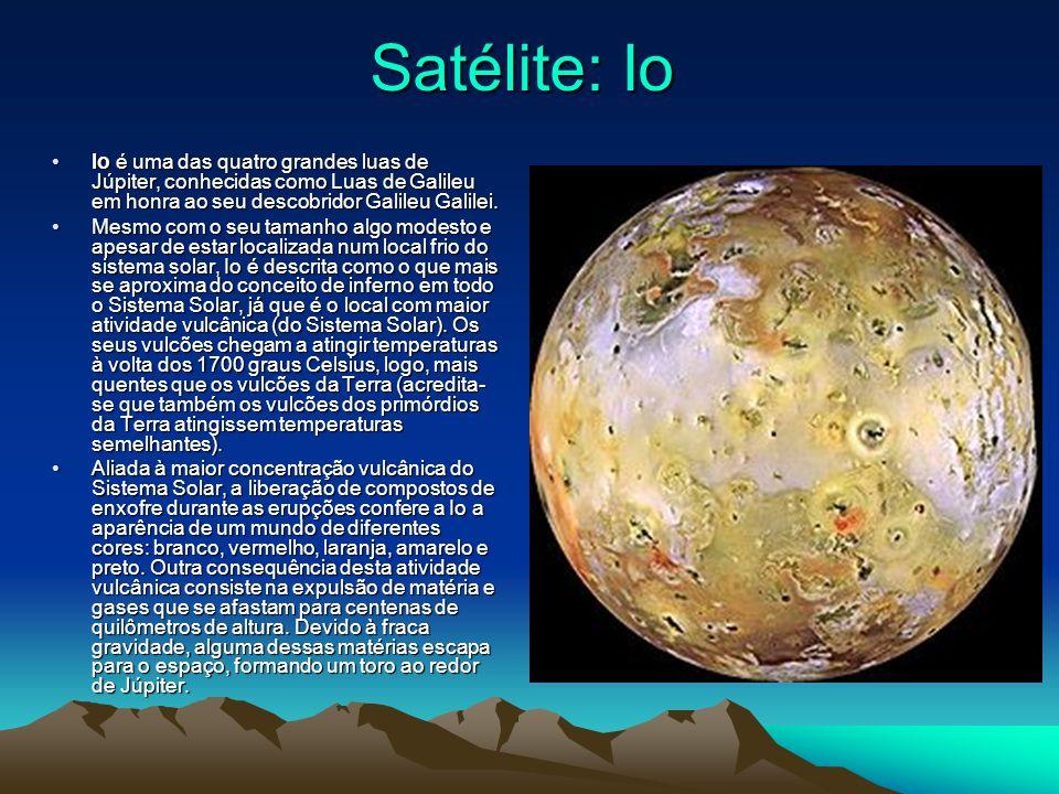 Atmosfera e clima do satélite Europa: Ao contrário do oxigênio da atmosfera terrestre, o oxigênio em Europa não deve ter certamente origem biológica.