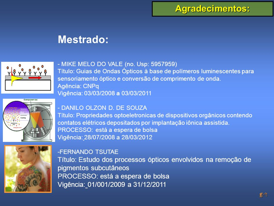 48 Mestrado: - MIKE MELO DO VALE (no.