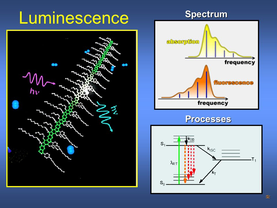 7 Luminescence Processes Spectrum