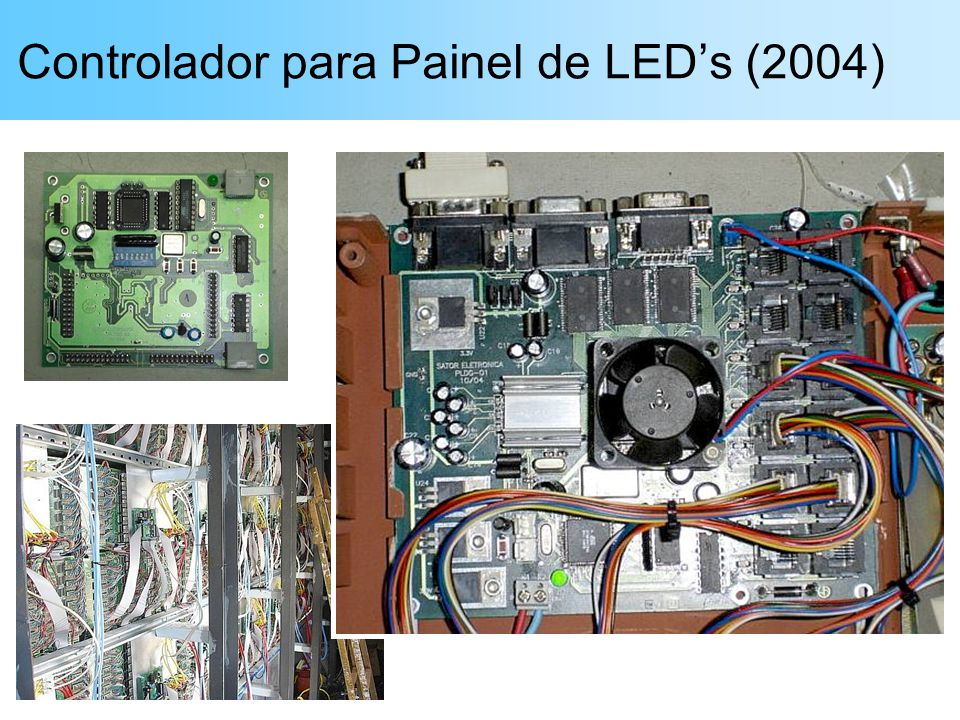 Controlador para Painel de LEDs (2004)