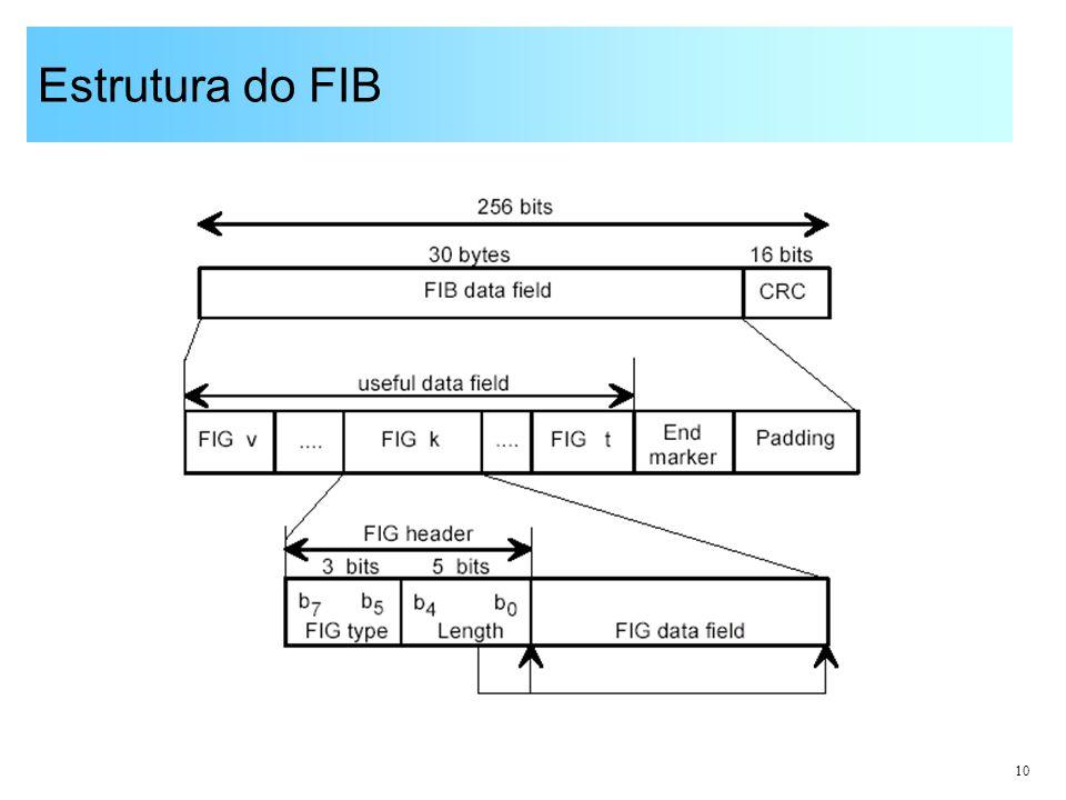 10 Estrutura do FIB