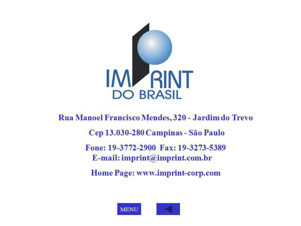 Rua Manoel Francisco Mendes, 320 - Jardim do Trevo Cep 13.030-280 Campinas - São Paulo Cep 13.030-280 Campinas - São Paulo Fone: 19-3772-2900 Fax: 19-