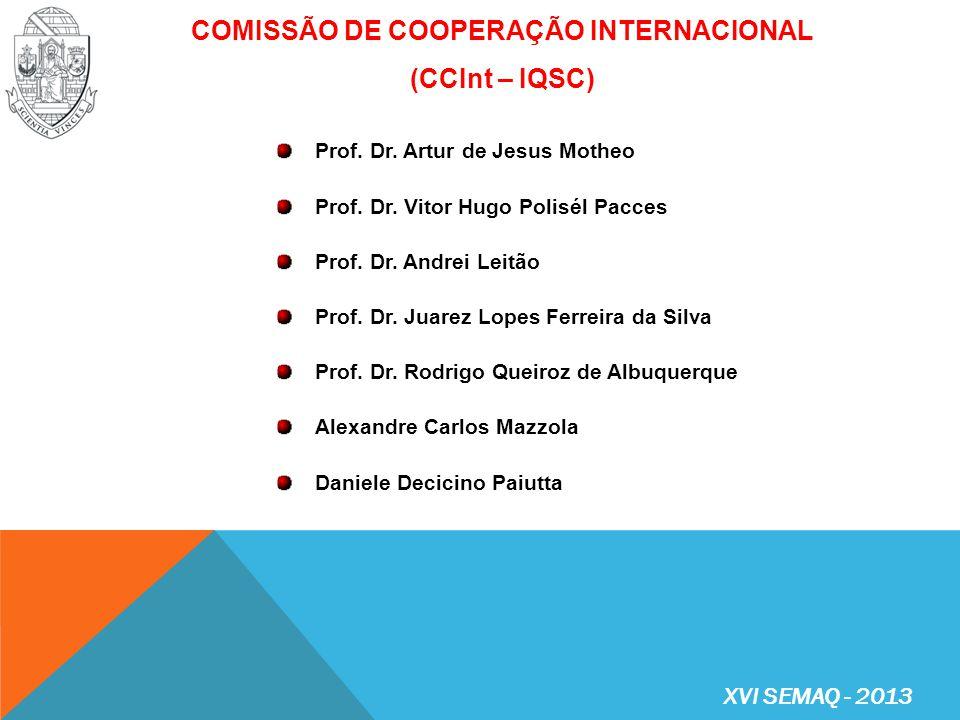 PROGRAMA CIÊNCIA SEM FRONTEIRAS (www.csf.gov.br) – inscrições no site do CsF e Sistema Mundus (obrigatório)www.csf.gov.br PROGRAMA DE INTERCÂMBIO INTERNACIONAL – BOLSA DE MÉRITO ACADÊMICO (http://www.reitoria.usp.br/intercambio/)http://www.reitoria.usp.br/intercambio/ PROGRAMA DE INTERCÂMBIO INTERNACIONAL – BOLSA DE EMPREENDEDORISMO (http://www.reitoria.usp.br/intercambio/)http://www.reitoria.usp.br/intercambio/ PROGRAMA INTERCÂMBIIO INTERNACIONAL – BOLSAS SANTANDER UNIVERSIDADES: Bolsas de Mobilidade Internacional Santander Universidades Bolsas Luso-Brasileiras Santander Universidades BOLSAS DE INTERCÂMBIO ALUNOS DE GRADUAÇÃO XVI SEMAQ - 2013