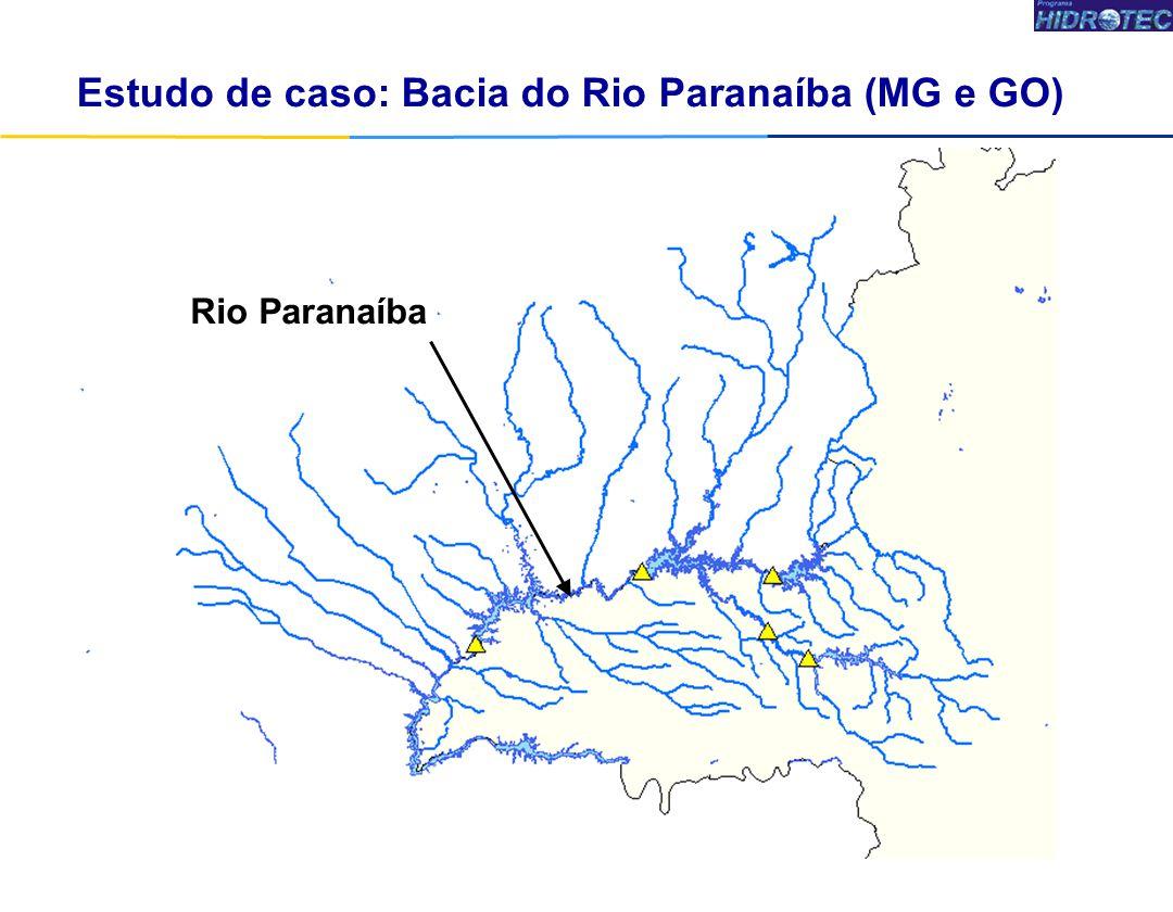 Rio Paranaíba Estudo de caso: Bacia do Rio Paranaíba (MG e GO)