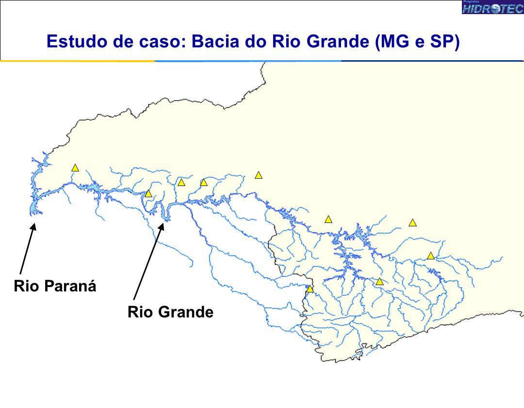 6 Rio Paraná Rio Grande Estudo de caso: Bacia do Rio Paranaíba (MG e GO) Estudo de caso: Bacia do Rio Grande (MG e SP)