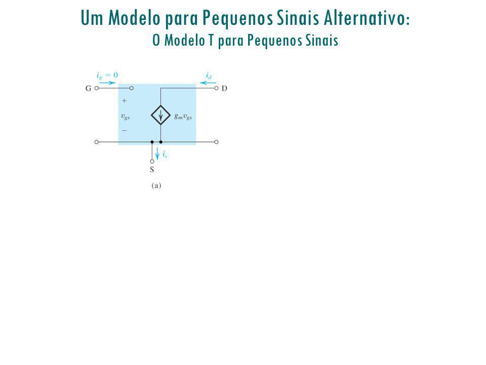 Um Modelo para Pequenos Sinais Alternativo: O Modelo T para Pequenos Sinais