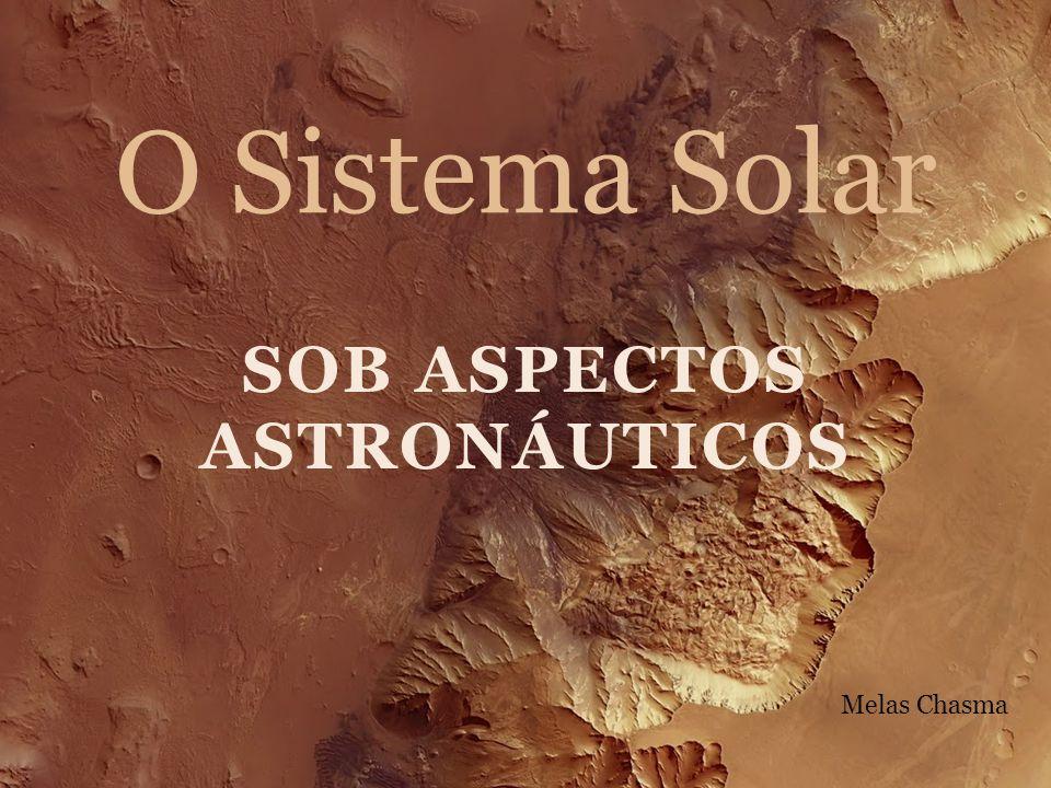 SOB ASPECTOS ASTRONÁUTICOS O Sistema Solar Melas Chasma