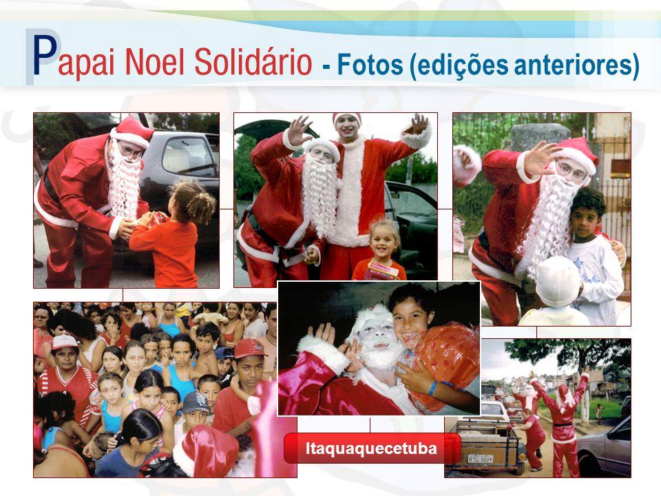 Doando um brinquedo, o Papai Noel se torna um elemento de paz, pois faz um gesto generoso e desinteressado Mais: ele é alguém desconhecido e não vinculado às causas políticas ou financeiras Claro que a criança não é boba...