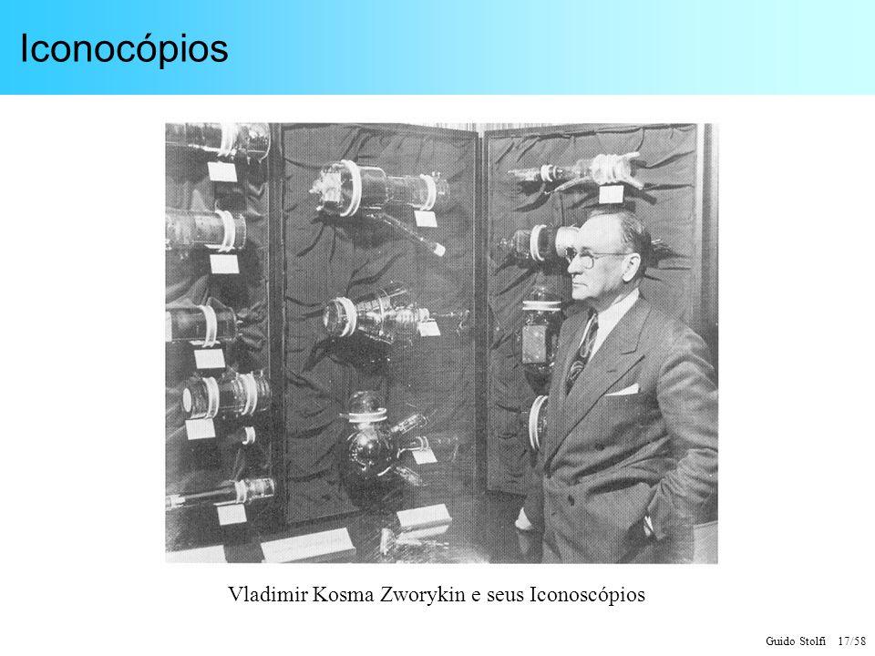 Guido Stolfi 17/58 Iconocópios Vladimir Kosma Zworykin e seus Iconoscópios