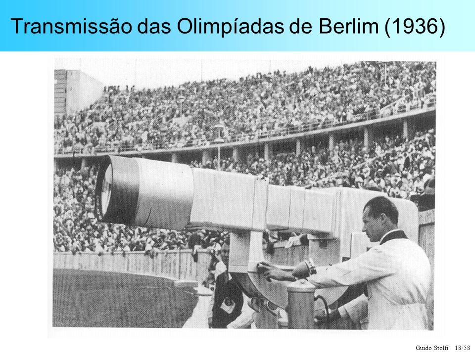 Guido Stolfi 18/58 Transmissão das Olimpíadas de Berlim (1936)