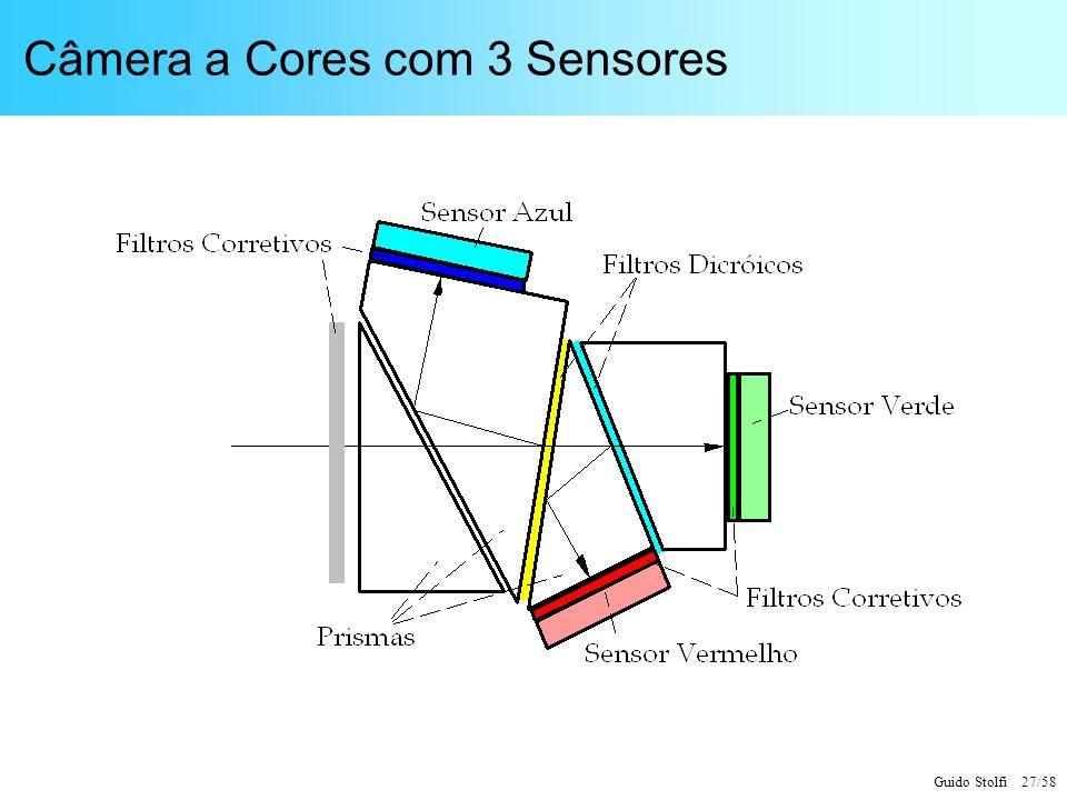 Guido Stolfi 27/58 Câmera a Cores com 3 Sensores