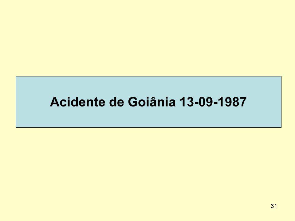 31 Acidente de Goiânia 13-09-1987