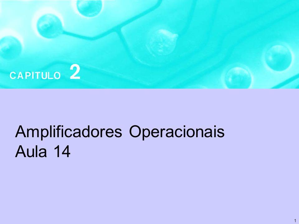 1 Amplificadores Operacionais Aula 14
