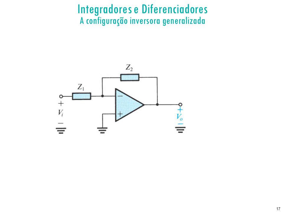 17 Integradores e Diferenciadores A configuração inversora generalizada