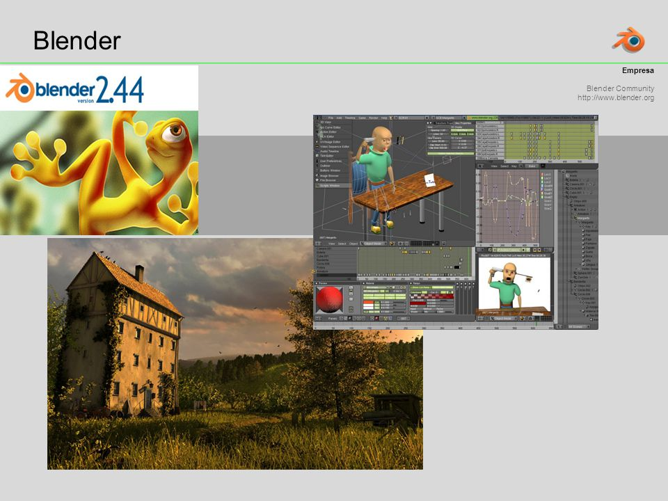 Blender Empresa Blender Community http://www.blender.org