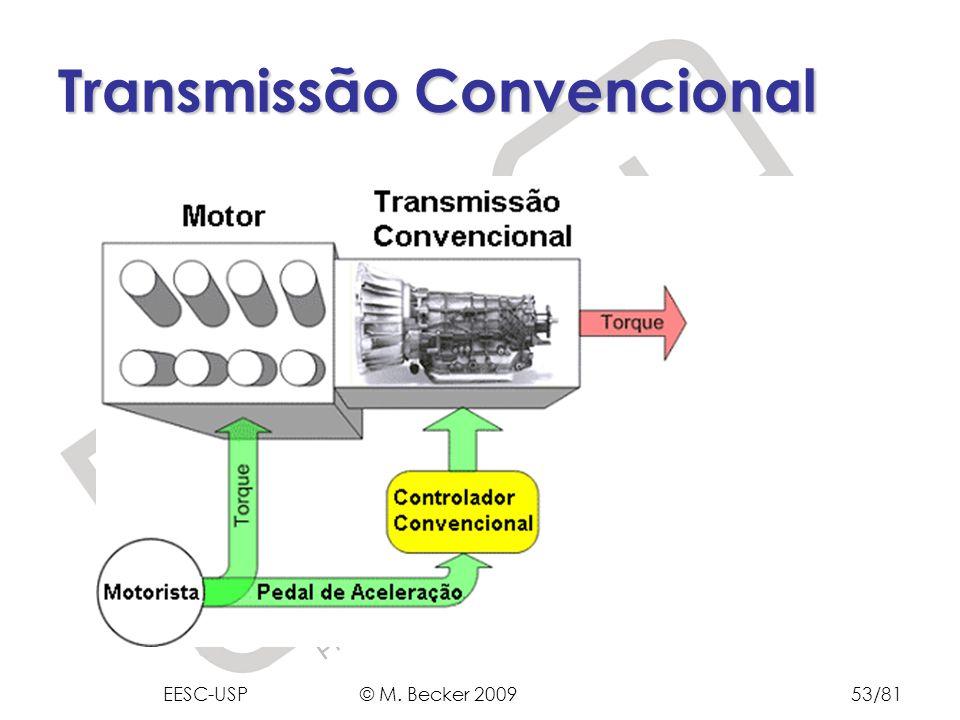 Prof. Dr. Marcelo Becker - SEM – EESC – USP Transmissão Convencional EESC-USP © M. Becker 200953/81
