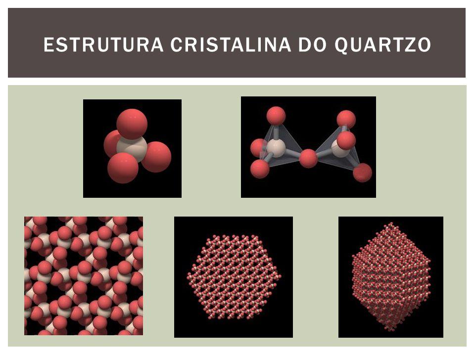 ESTRUTURA CRISTALINA DO QUARTZO