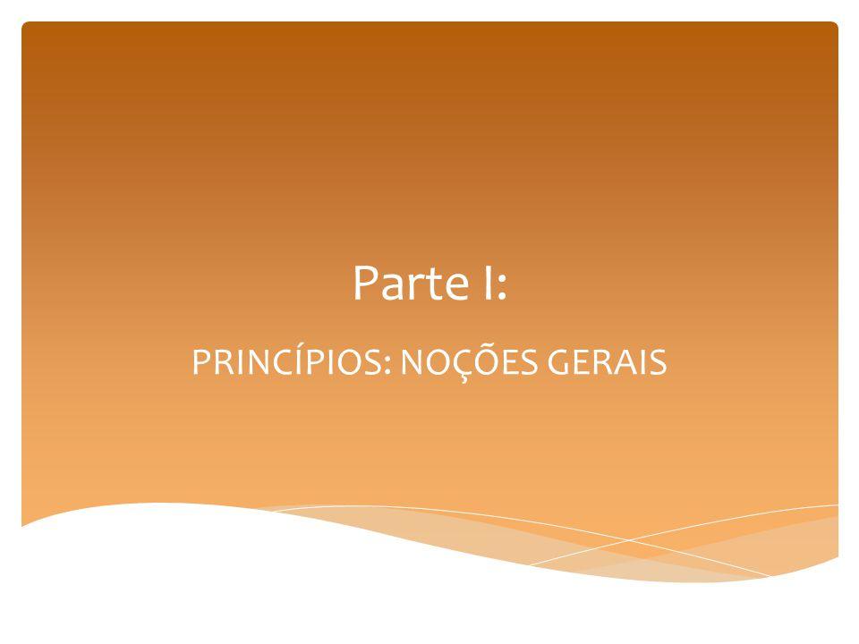Visão tradicional: Normas jurídicas E princípios I.e.