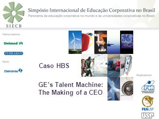 GEs Talent Machine: The Making of a CEO Caso HBS