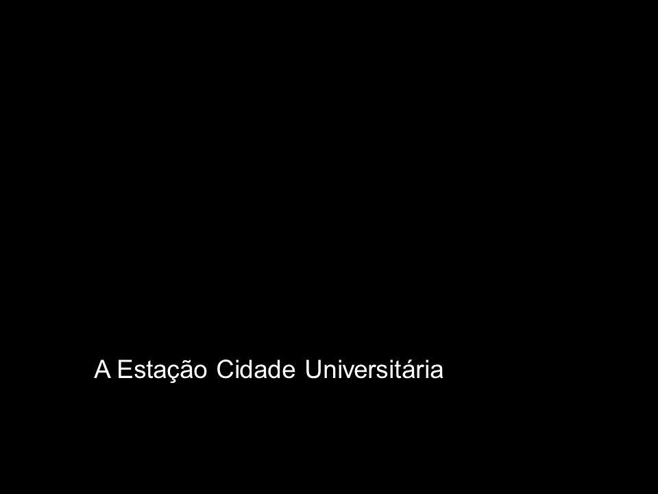 A Estação Cidade Universitária