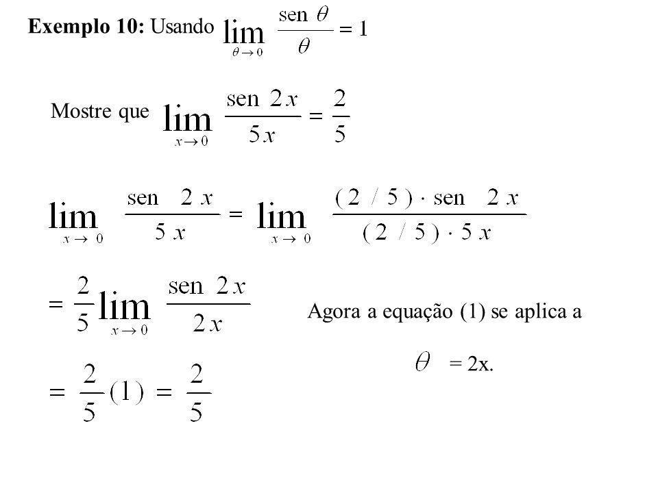 Limites Envolvendo o Infinito Definições Limites com 1.Dizemos que f(x) possui o limite L quando x tende ao infinito e escrevemos: 2.