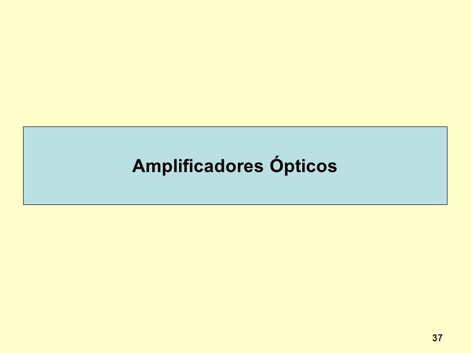 37 Amplificadores Ópticos