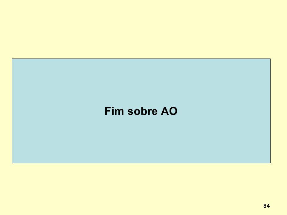 84 Fim sobre AO