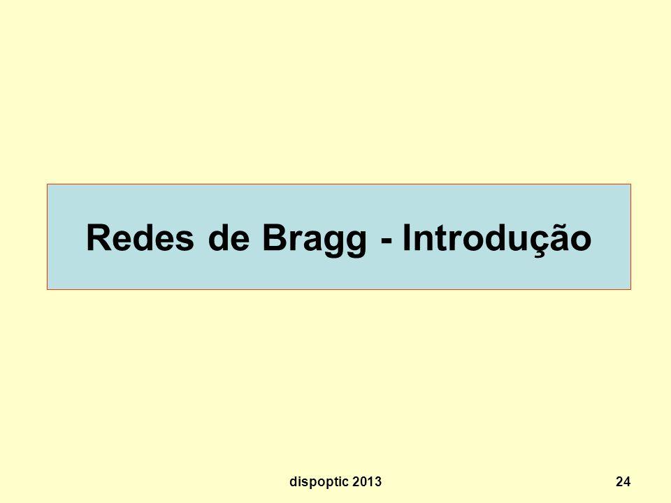 24 Redes de Bragg - Introdução dispoptic 2013