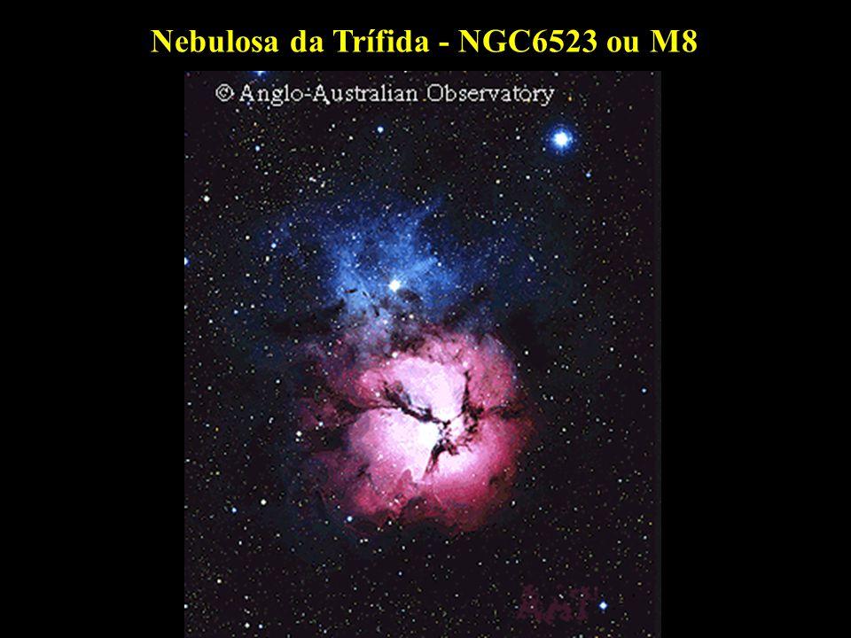 Nebulosa da Trífida - NGC6523 ou M8