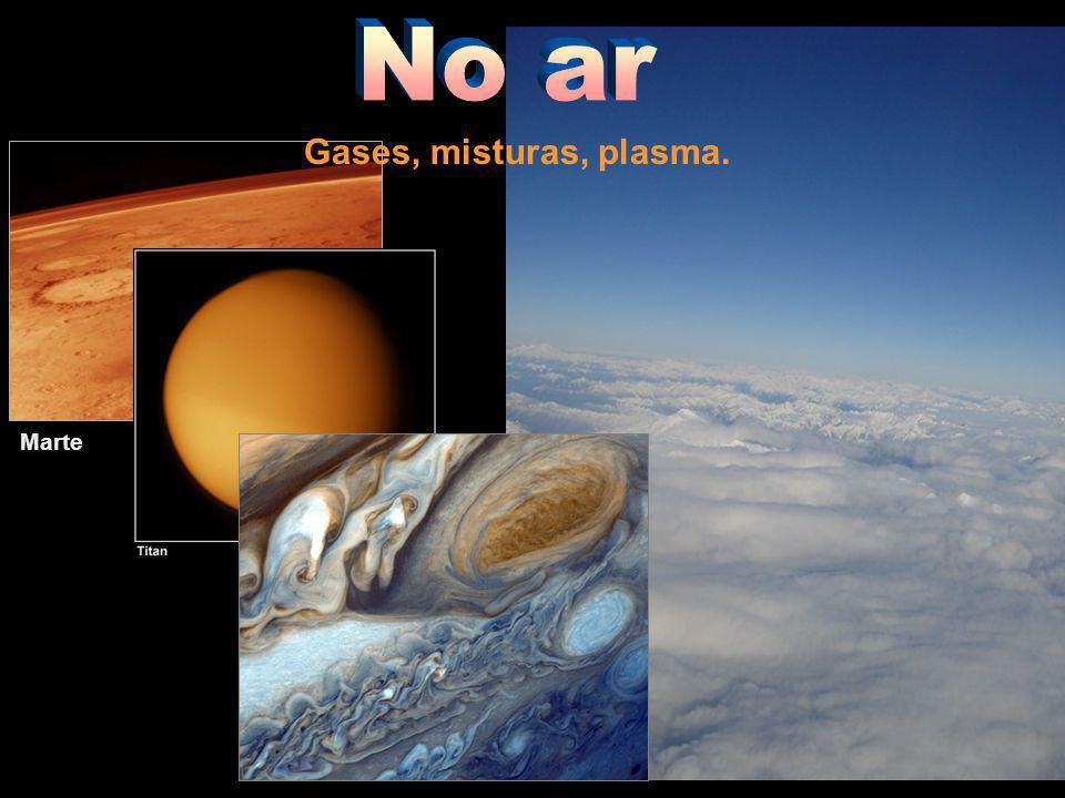 Marte Gases, misturas, plasma.