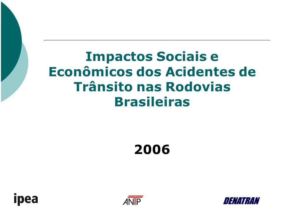 Impactos Sociais e Econômicos dos Acidentes de Trânsito nas Rodovias Brasileiras 2006