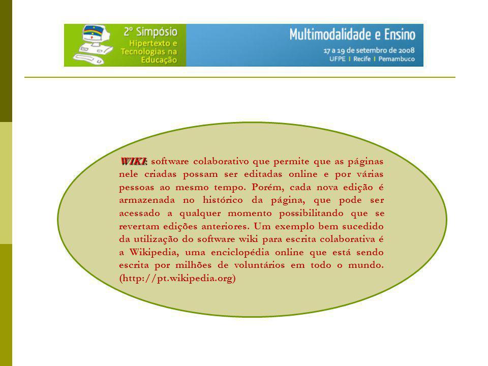 Wiki na educação Livros: MADER, S.
