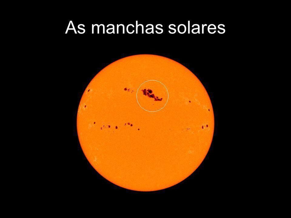 As manchas solares