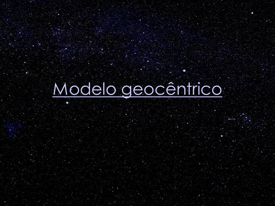 Modelo geocêntrico Modelo geocêntrico