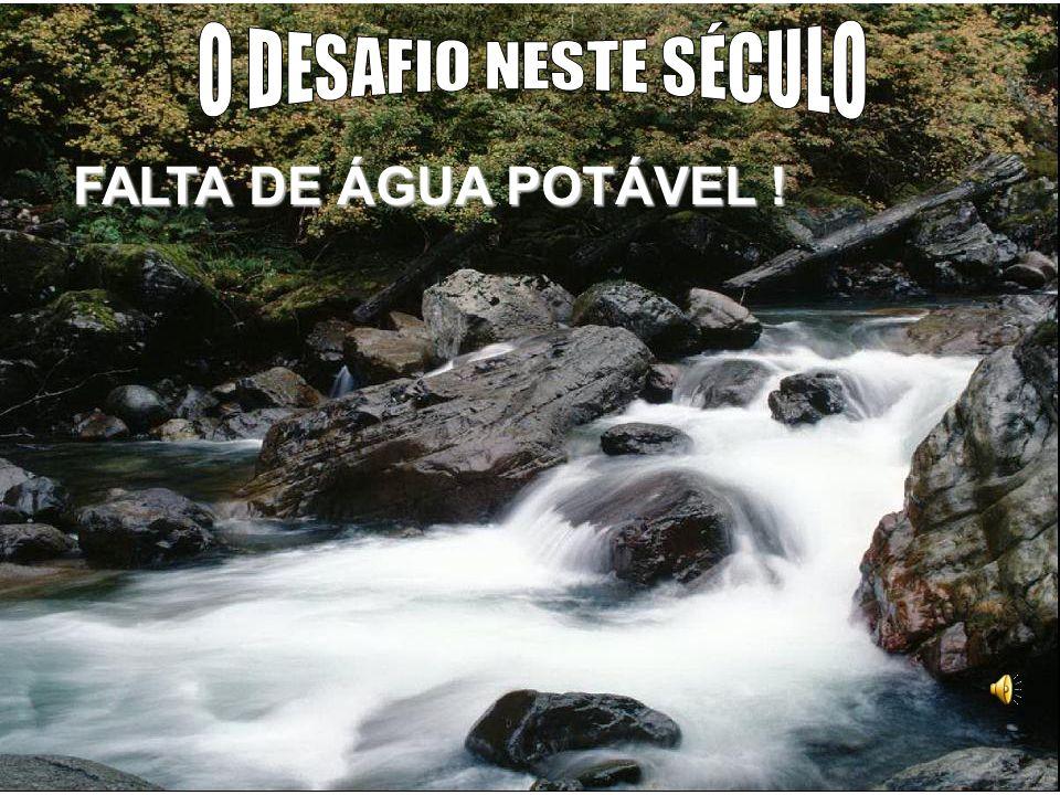 FALTA DE ÁGUA POTÁVEL !