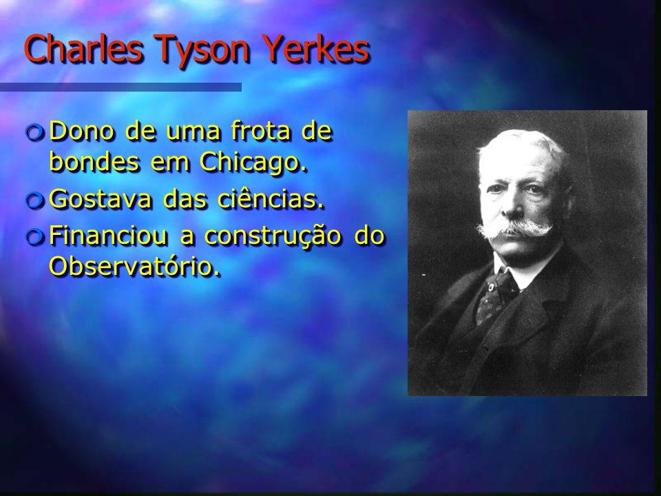Charles Tyson Yerkes Dono de uma frota de bondes em Chicago.