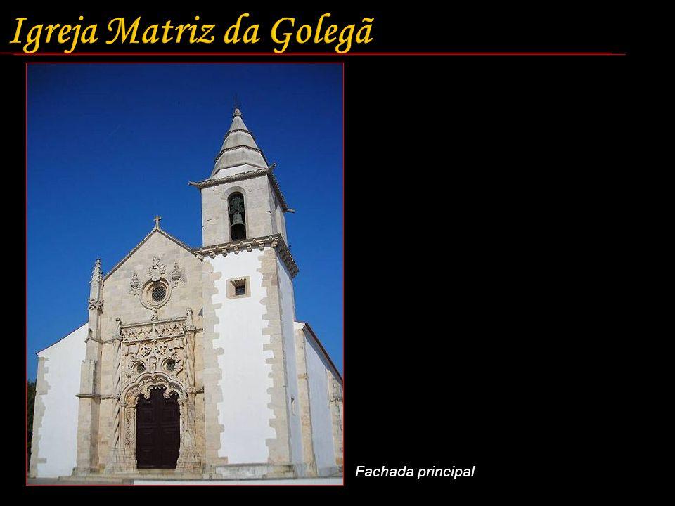 Igreja Matriz da Golegã Fachada principal