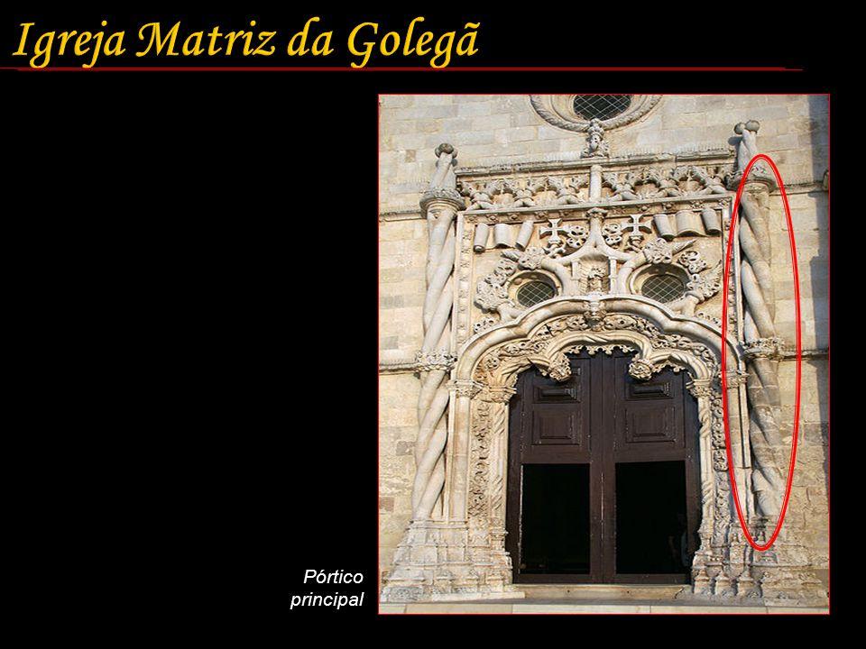 Igreja Matriz da Golegã Pórtico principal