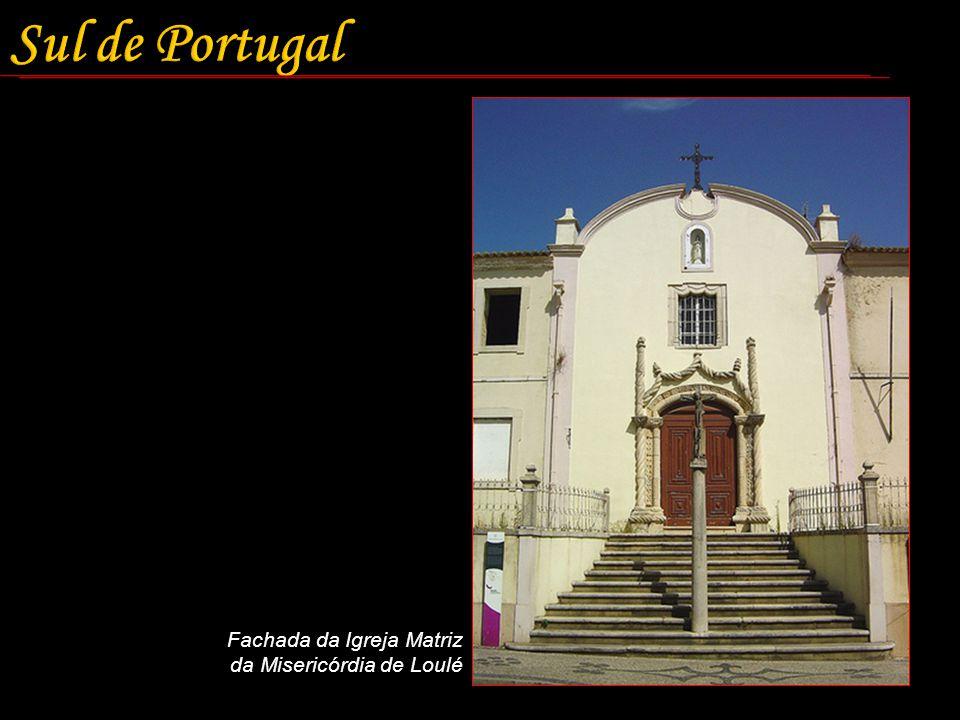 Fachada da Igreja Matriz da Misericórdia de Loulé